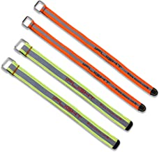 iFlight High Strength RC Reflective Lipo Battery Straps 2pcs 20x250mm + 2pcs 15x260mm with Fluorescent Colors Non-Slip Strap for 4S 6S Lipo FPV Racing Drone Quadcopter