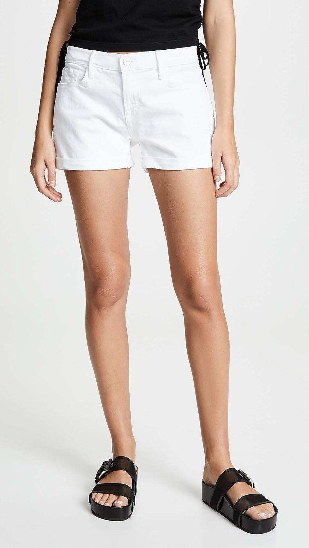 FRAME Women's Le Cutoff Cuffed Shorts