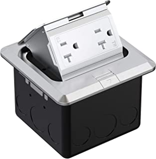 stainless steel electrical receptacle outlet