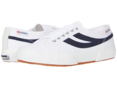Superga 2953 Swallow Tail (White/Navy) Shoes