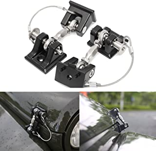 XFMT Front Footrests Footpegs Compatible with Honda CB 400 CB 600 CB 1000 CB 750 NT 650 VTR 1000