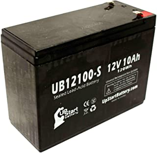Replacement for Toyo 6FM10 Battery - Replacement UB12100-S Universal Sealed Lead Acid Battery (12V, 10Ah, 10000mAh, F2 Terminal, AGM, SLA)