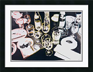 Framed Wall Art Print After The Party, 1979 by Andy Warhol 24.38 x 19.00