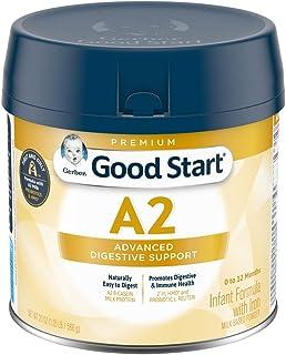 Gerber Good Start, Infant Formula A2 Milk (HMO), Non-GMO Powder, Stage 1, 20 Ounce
