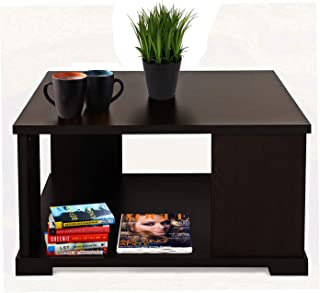 Aart Store Wooden Coffee Table/Centre Table for Living Room Furniture Square (Wenge)