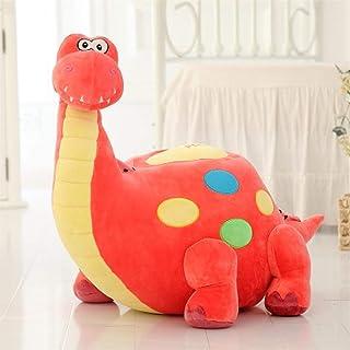 Cartoon Giraffe Penguin Beanbag Adult Stool Single Person Plush Toys Seat Children S Stool Tatami Annacboy (Color : Pink G...