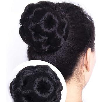 D-DIVINE Natural Black Claw hair Bun