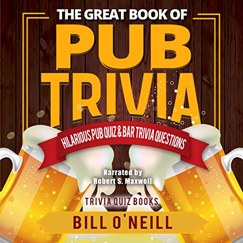 The Great Book of Pub Trivia audiobook cover art