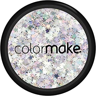 Glitter Shine Estrela Prata 2G, Colormake