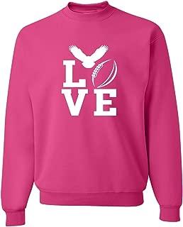 Adult Love Football Philadelphia Sweatshirt Crewneck