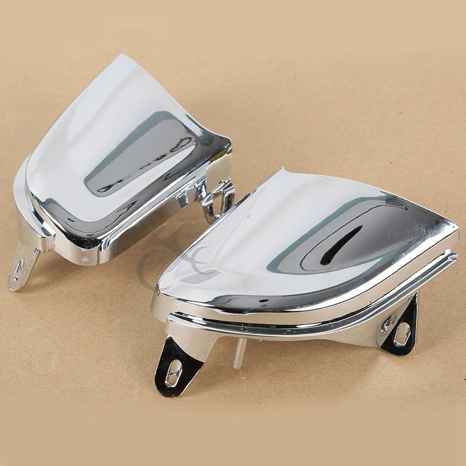 Fincos Front Chrome Headlight Cover Trims for Honda goldwing gold Wing GL1800 20062014