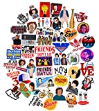 STRANGER THINGS Stickers Pack Cool, 50 pcs TV Show Laptop Stickers Vinyl Waterproof Sticker Office Water Bottles Skateboard Motorcycle Bicycle Luggage Decal Graffiti Patches for Teen Kid Child Student