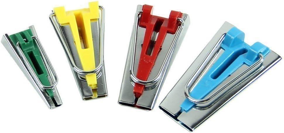 herramienta de costura para coser acolchar tama/ño 6 mm 18 mm Herramienta para hacer cintas de bies de tela 25 mm 12 mm