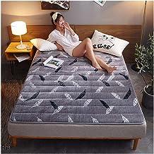 Tatami Futon Mattress, Japanese Tatami Futon Mat Bedspread Floor mat Full Cover Coverlet Cotton Mattress Thick 3 cm,100x20...