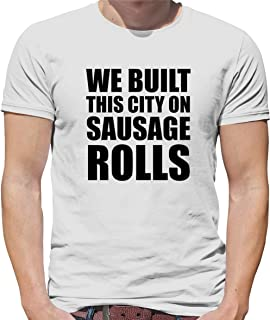We Built This City On Sausage Rolls - Mens Ultra Cotton T-Shirt