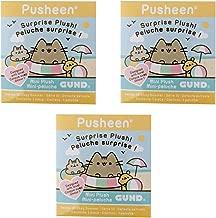 GUND Pusheen Plush Surprise Box Series #10 - Lazy Summer, 3-Pack Bundle