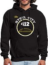 Spreadshirt Pittsburgh The Steel City Men's Hoodie