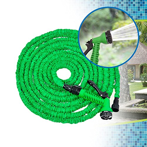 Gem Supplies BN5434 - Manguera Extensible, 30 m, Color Verde