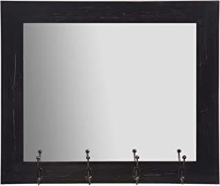 Best entry mirror with coat hooks Reviews