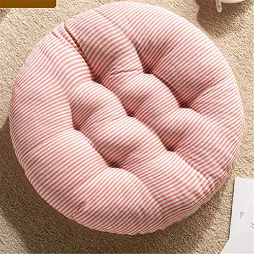 MGE Thicker Cushion Chair,Premium Padded Chair Cushions Quilted Seat Pads Sofa For Indoor And Outdoor Use Pressure Relief Cushion Great As Officer 2PC(Size: 40x40x8cm,Color:Pink)