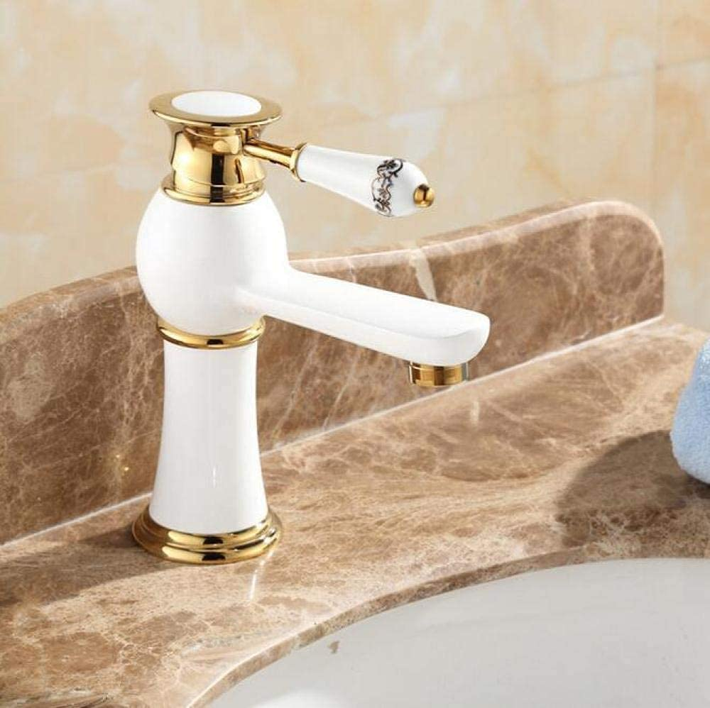 Samantha Quality Inventory cleanup selling sale Faucet Taps High Golden Max 70% OFF Plating Polished