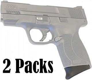 E-ONSALE Pack of 2 Grip Black Polymer Magazine Extension for M&P Shield .45 ACP /AG45-2PC