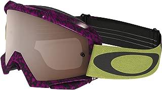 Oakley Proven MX Viper Room Goggles with Neon Print Frame (Black Frame/Black Iridium Lens)