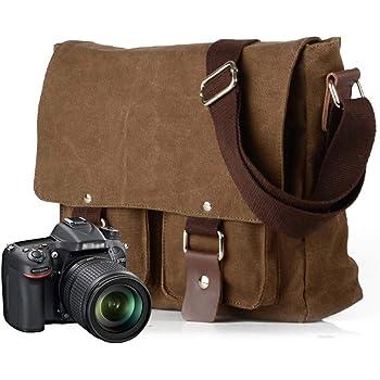 Cámara SLR D bandolera portátil de fotografía al aire libre Bolsa Para CANON SONY COZY