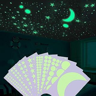 Sopito 502 PCS Brillan en la oscuridad Estrellas Pegatinas de pared
