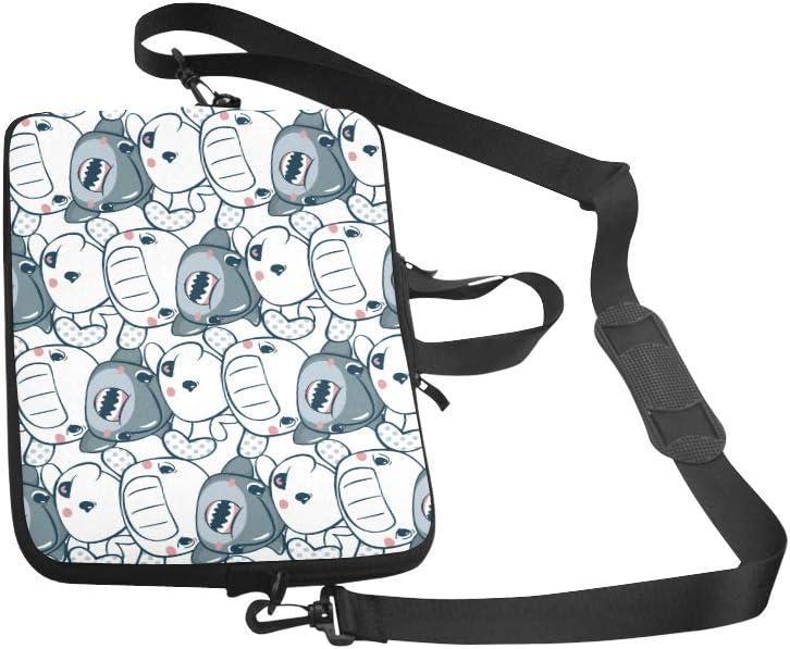Laptop Sleeve Case Bag Funny Shark Cartoon 13 13.3 Inch for MacBook Pro Air Dell HP Lenovo Thinkpad Acer Ultrabook