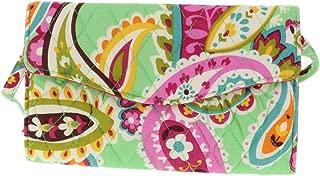 Vera Bradley Crossbody/Shoulder Strap Wallet Handbag/Clutch in Tutti Frutti