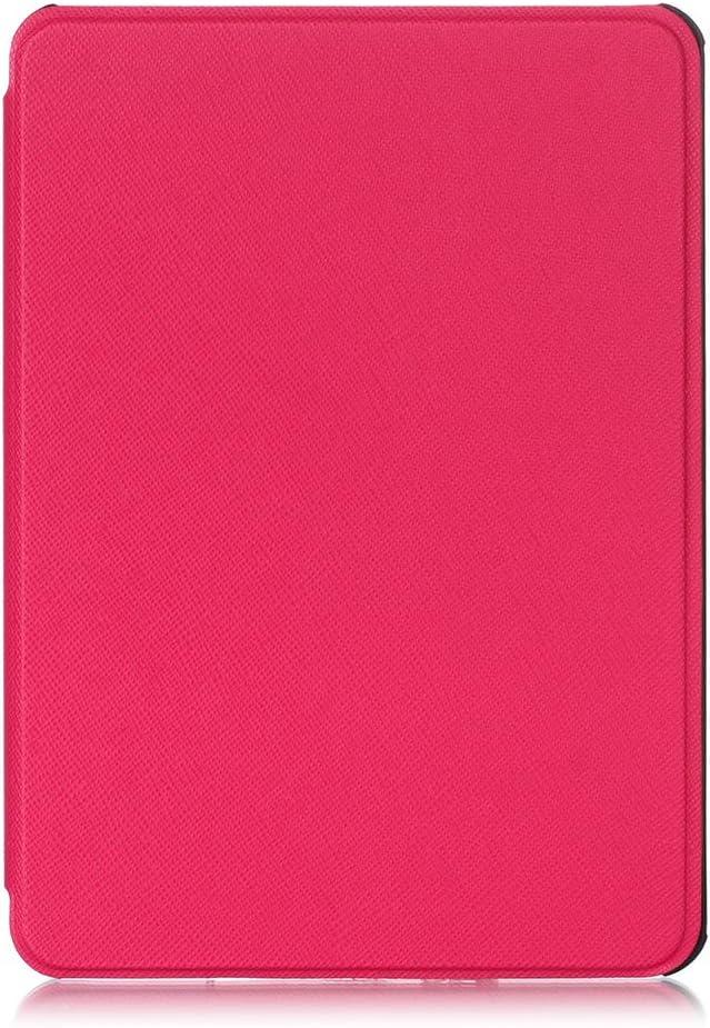 geneic Funda de piel sint/ética para Kindle de 10/ª generaci/ón ultrafina, con funci/ón atril dise/ño de cruz