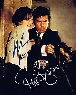 ◆直筆サイン ◆007 ゴールデンアイ ◇GOLDENEYE (1995) ◆ピアース ブロスナン as ジェームズ ボンド ◆Pierce Brosnan as James Bond ◆イザベラ スコルプコ as ナターリャ シモノヴァ ◆I...