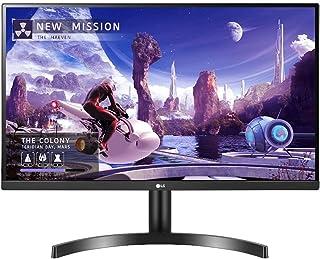 LG 27 inch QHD IPS HDR10 Monitor with AMD FreeSync,HDR10,Borderless Design,HDMI,DP Black|27QN600-B