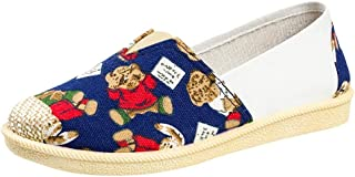 OrchidAmor Vintage Lazy Sneakers Shoes Boat Flat Shoes Unisex Casual Breathable Shoes 2019 Summer Soft Comfy Shoes