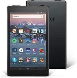 """Tablette Fire HD 8, écran HD 8"""" (20,3cm), 32Go (Noir) – avec offres.."""