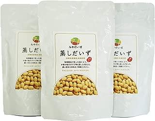 国産大豆 宮崎県産 都城在来種 みやだいず 蒸しだいず そのまま食べられる 常温 150g × 3袋セット みやざき食宝