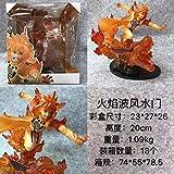 Modelo de Personaje Six Immortals Llama Naruto Llama Kakashi Flame Wave Fengshui Gate Figura 25Cm-Wave Wind Water Gate Figura de acción Anime PVC Figuras de acción Juguetes para Adultos Figuras De