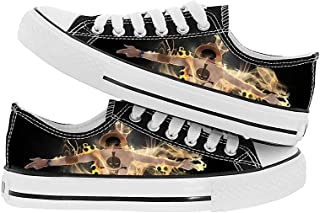JPTYJ One Piece Monkey·D·Luffy/Portgas·D· Ace Chaussures en Toile Hommes Pantoufles Anime Cosplay Unisexe Chaussures en Toile