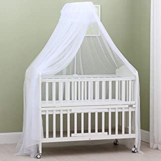 Best baby crib canopy drapes Reviews