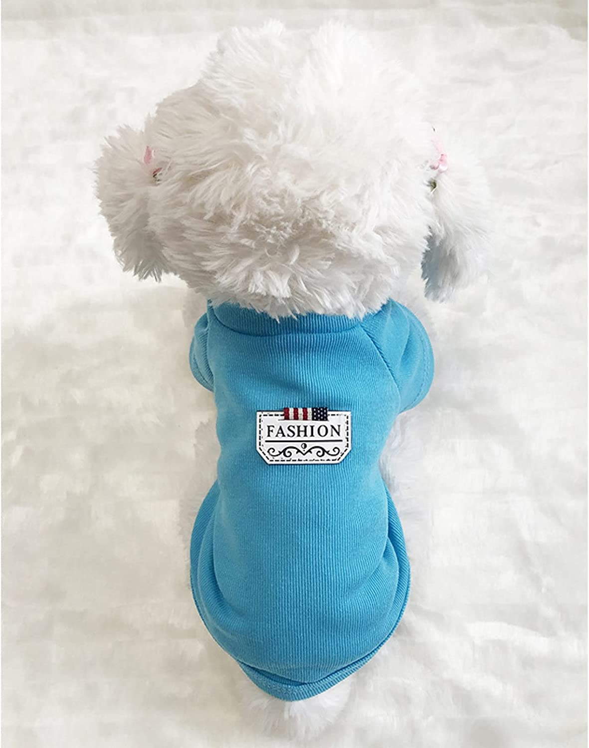 MDKAZ Clothes for Pets Spring Dogs Regular store Fresno Mall Dog Pet Bla Small