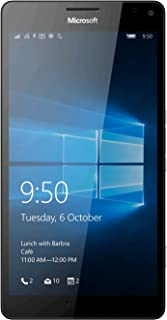 "Microsoft Lumia 950 XL (Factory Unlocked) 5.7"" 20mp 3gb RAM 32gb 4g Smartphone(white)"