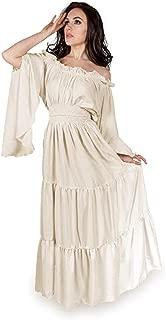 Renaissance Medieval Costume Mythic Mystic Forest Sword Mistress Chemise Dress