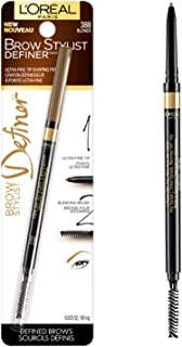 L'OrÃal Paris Makeup Brow Stylist Definer Waterproof Eyebrow Pencil, Ultra-Fine Mechanical Pencil, Draws Tiny Brow Hairs & Fills in Sparse Areas & Gaps, Blonde, 0.003 Ounce (1 Count)