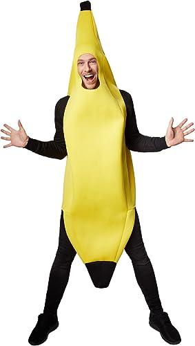 TecTake dressforfun Kostüm Banane Bananenkostüm   Super lustiges,  elloses, l eres Oberteil   Stabiles Material   Cooles und ulkiges Kostüm (XL   Nr. 301627)