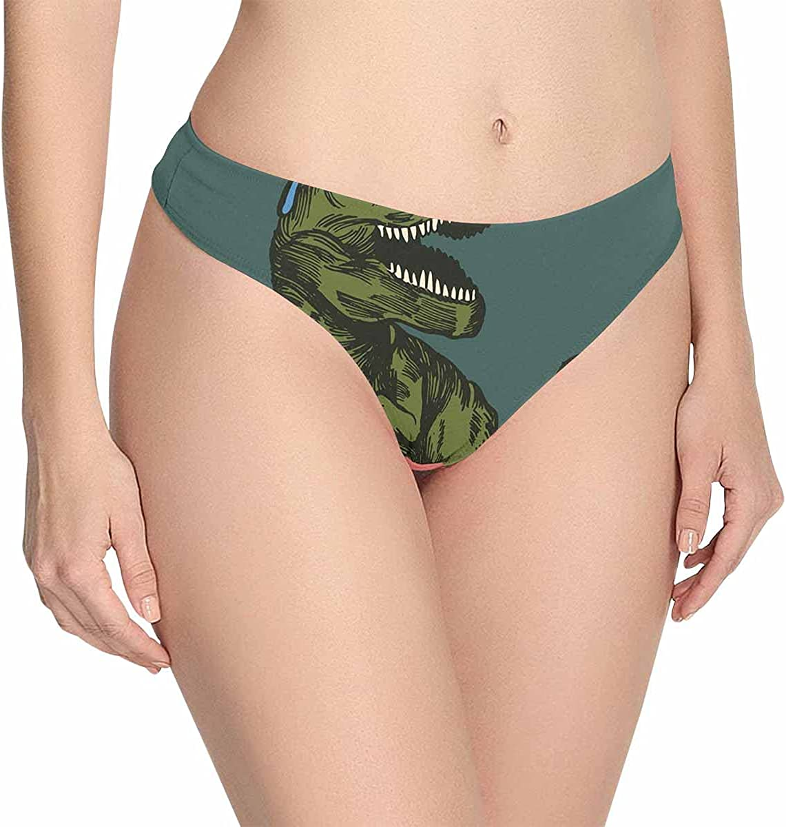 Super sale period limited InterestPrint Women's Classic Low-Rise Knickers Un Thong free shipping Stretch