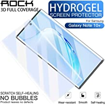 AICase Screen Protector for Galaxy Note 10 Plus,0.12mm Support Fingerprint ID Soft Hydrogel Aqua Flex HD Ultra ClearCase Friendly Full Coverage Screen Cover for Samsung Galaxy Note 10+ 5G