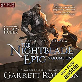 The Nightblade Epic, Volume 1 audiobook cover art