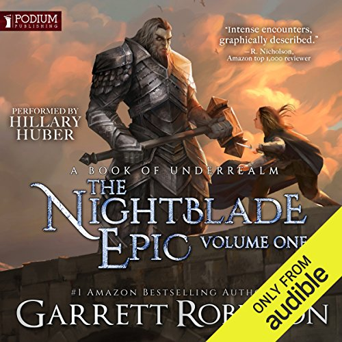 The Nightblade Epic, Volume 1 cover art