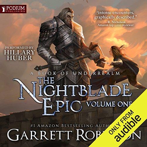 The Nightblade Epic, Volume 1 audiobook cover art